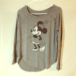 Minnie Mouse long sleeve.